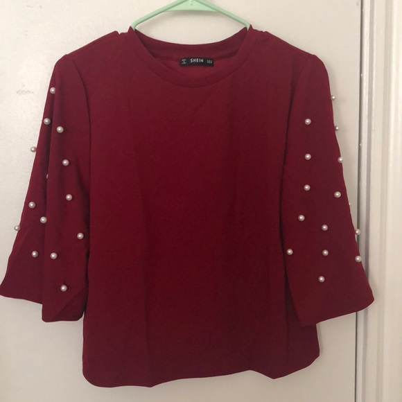 SHEIN Tops - NWOT: red blouse